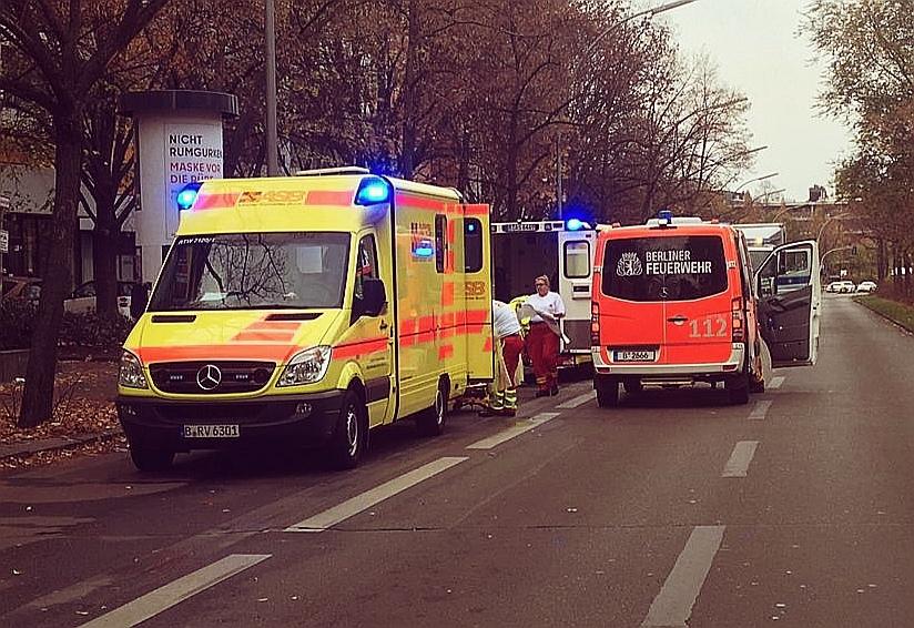 Weltkriegsbombe gefunden – Entschärfung & Evakuierung in Kreuzberg in vollem Gange