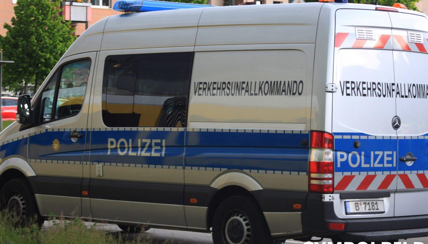 Ein Fahrzeug des Verkehrsunfallkommandos. (Symbolbild)